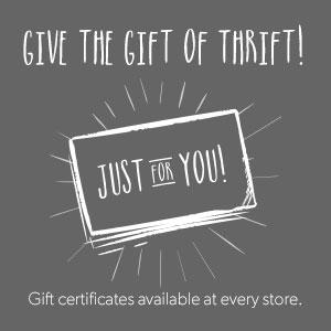 Gift Cards |Savers Thrift Stores