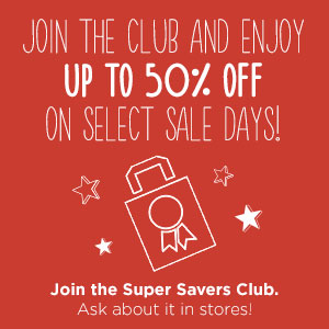 Discount Super Savers Club Card |Savers Thrift Stores in North Little Rock, AR