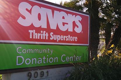 Savers Fountain Valley California