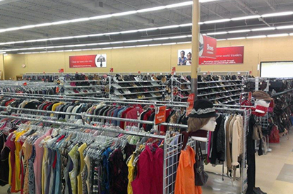 Savers - Austin, TX, United States. Inside the store