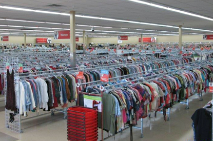 Thrift store clothes by the pound