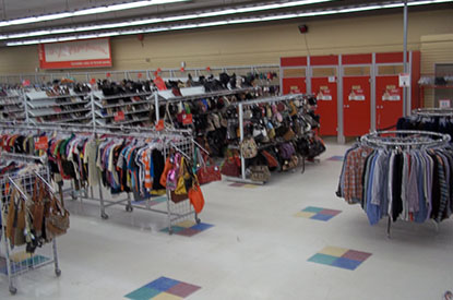 Savers Toronto Location Image